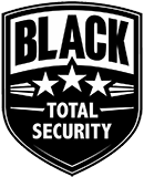 Black Total Security Logo